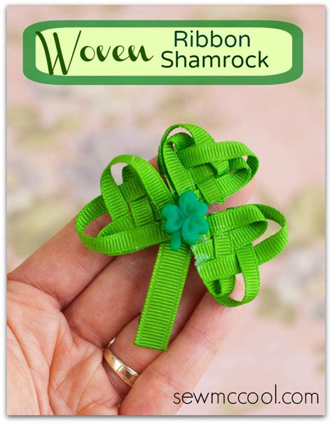 ribbon shamrock instructions irish blessing printable project inspire d week 56 link