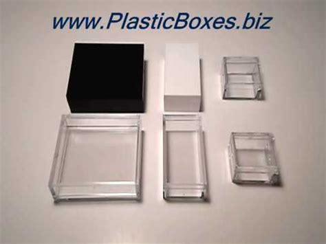 small plastic boxes  lids parts storage micromount