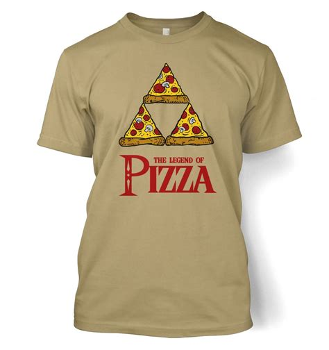 pizza pattern t shirt legend of pizza t shirt somethinggeeky