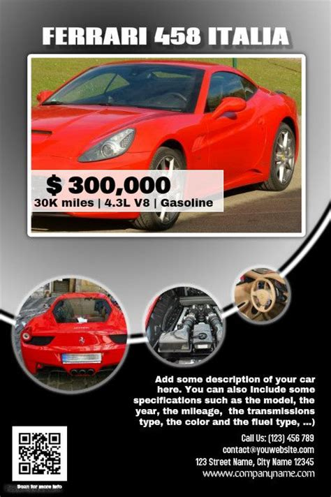 auto dealer template 41 best images about car dealer flyer diy on