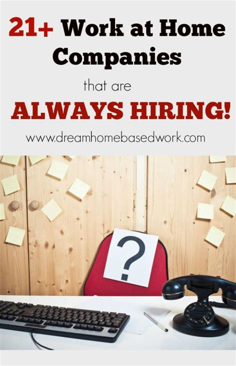 List Of Online Jobs To Work From Home - online jobs work from home hiring 27 companies that are currently hiring for work at home