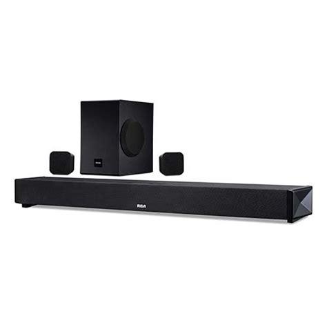 best soundbar system review rca 37 quot 5 1 channel surround sound soundbar