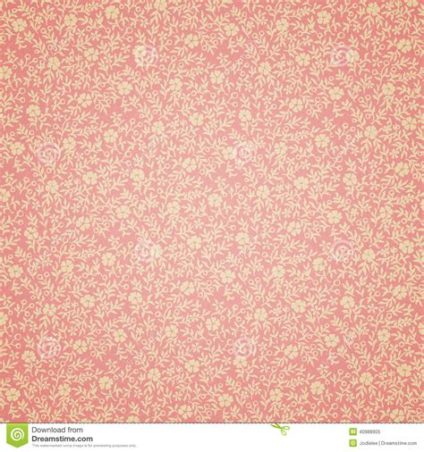 vintage style floral background with pink blooms royalty retro floral wallpaper stock photo image 40988905