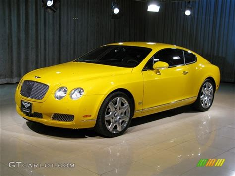 bentley yellow 2007 monaco yellow bentley continental gt mulliner 256318