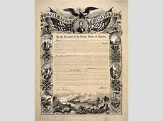 The Emancipation Proclamation and its Role in GPO and ... Emancipation Proclamation Actual Document