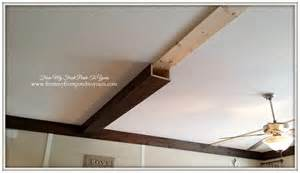 faux wood ceiling beams diy from my front porch to yours how we made our diy wood beams