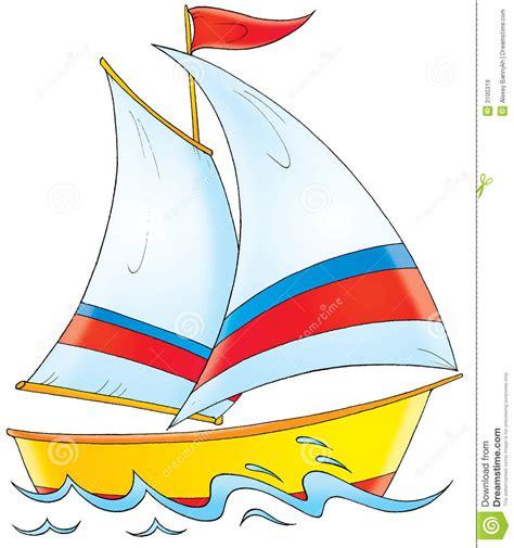 zeilboot emoji yacht stock illustration image of drawing illustration