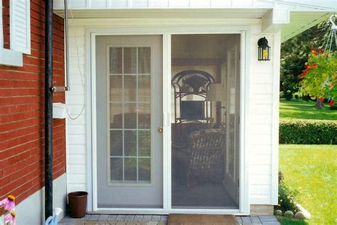 Phantom Screen Door by Phantom Screens Retractable Screen Door Ottawa