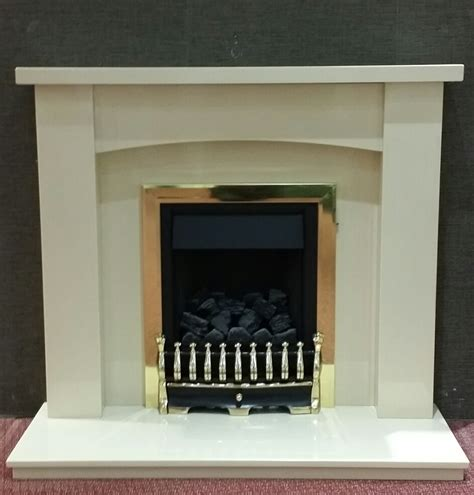 Lucca Fireplace by Lucca Creme Beige Fireplace By Design