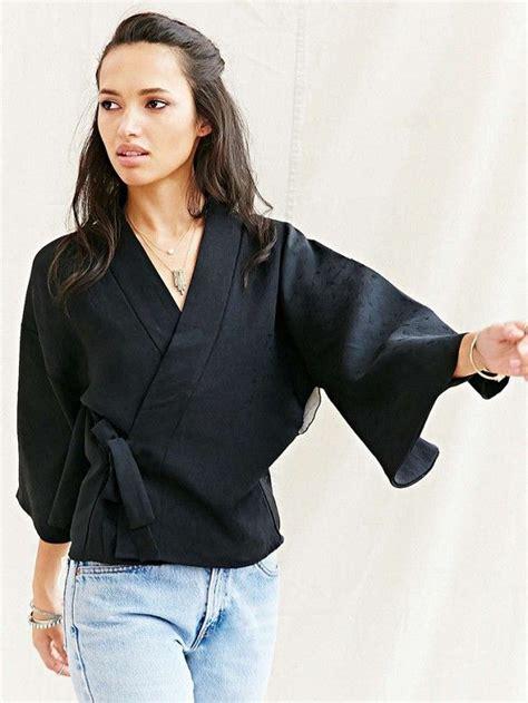 F Kimona Top kimono wrap blouse clothing