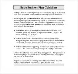 template for writing a business plan business format template free