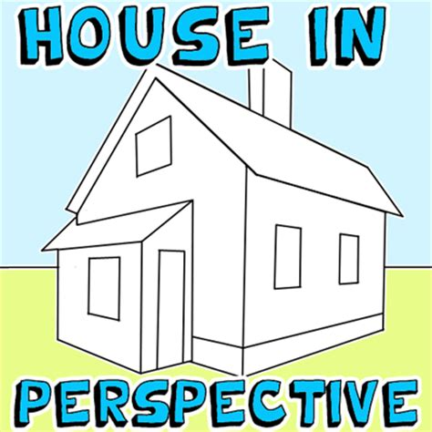 how to draw a house for kids step by step drawing how to draw a house with easy 2 point perspective