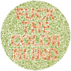 what colors can colorblind see color blindness test dickbutt