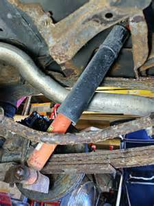My Car Shocks Me When I Get Out How To Replace Rear Shock Absorbers On A 1999 Gmc Jimmy Or