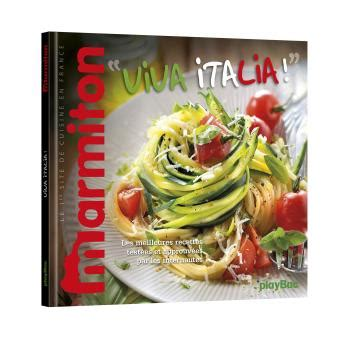 livre cuisine marmiton viva italia les meilleures recettes marmiton cuisine