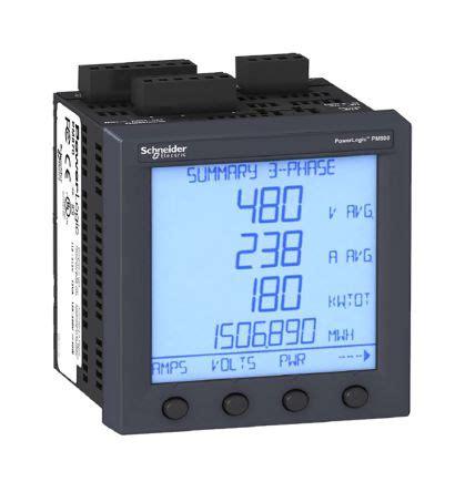 Power Meter Schneider Metsepm 2210 Schneider pm850mg schneider electric pm850 lcd digital power meter 92mm x 92mm 8 digits 3 phase 177 0