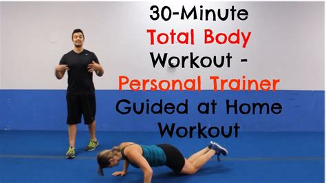 30 minute total workout to burn workout at home