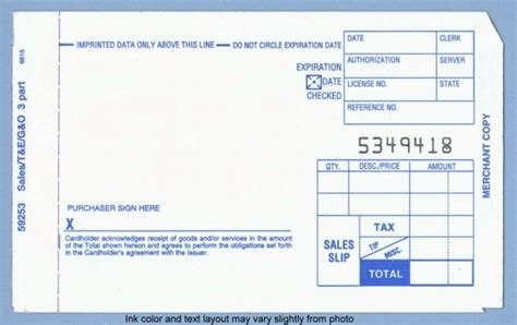 Sle Credit Card Slip Free Shipping Credit Card Slips And Manual Imprinter Supplies Home
