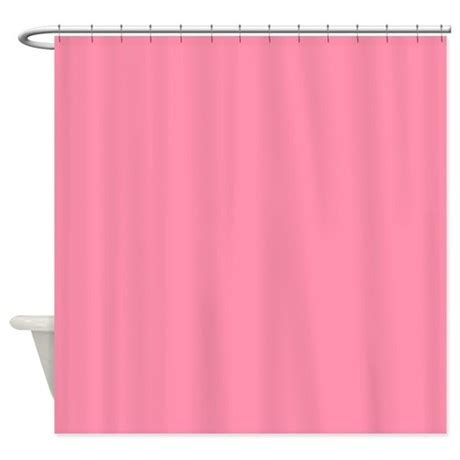 solid light pink shower curtain by showercurtainsworld