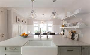 Kitchen Peninsula Lighting Of Character Liza Shawn S Before And After W Network