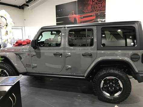 jeep rubicon grey sting gray wrangler jl 2018 jeep wrangler forums