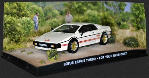 lotus for your only lotus esprit turbo for your only 1 43 scale model