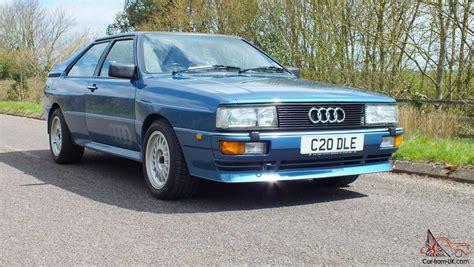 audi turbo for sale 1986 audi ur quattro turbo