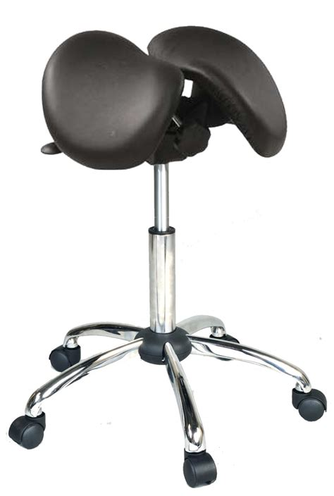 saddle stool kanewell 901snl ergonomic saddle seat leather