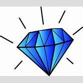 Diamond Clip Art | gem and geo art | Pinterest