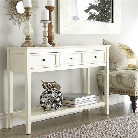 white sofa table ashington antique white console table ashington a f c