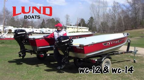lund boats built lund boats wc 12 wc 14 youtube