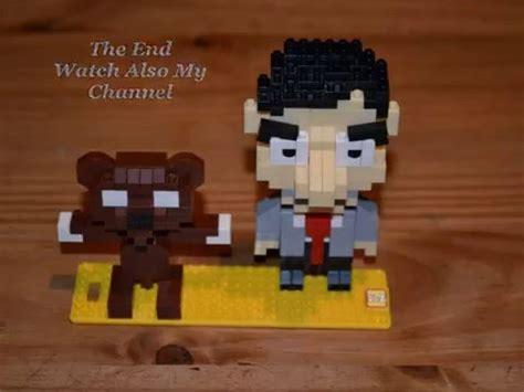 Loz Nano Block Mr Bean Teddy these mr bean and his friend teddy with nano lego blocks