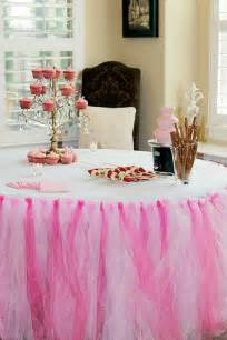 baby shower tutu table cloth flickr photo