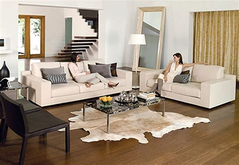 White Leather Living Room Chair - stylish white leather living room furniture info
