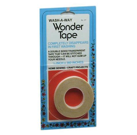Washing Tape by Wash A Way Wonder Tape Sergeandsew Com Instructional