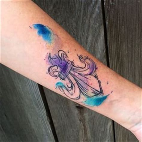 watercolor tattoo louisville 1000 ideas about fleur de lis on