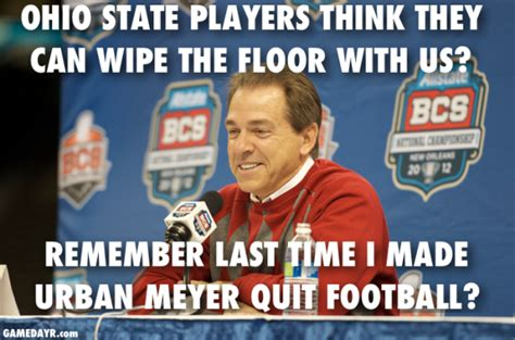 Ohio State Football Memes - best alabama vs ohio state memes