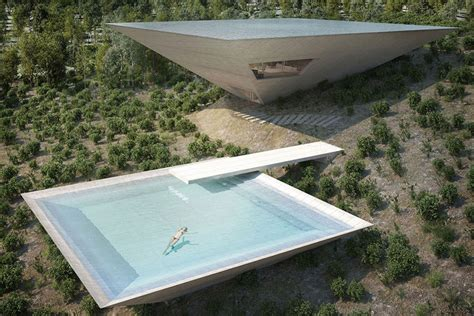 pyramid house inverted pyramid house uncrate