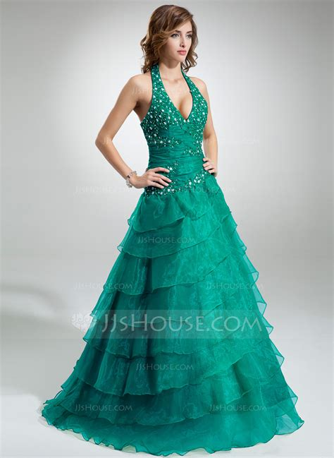 vestidos verde jade para gorditas corte de baile cabestro hasta el suelo organd 237 vestido de