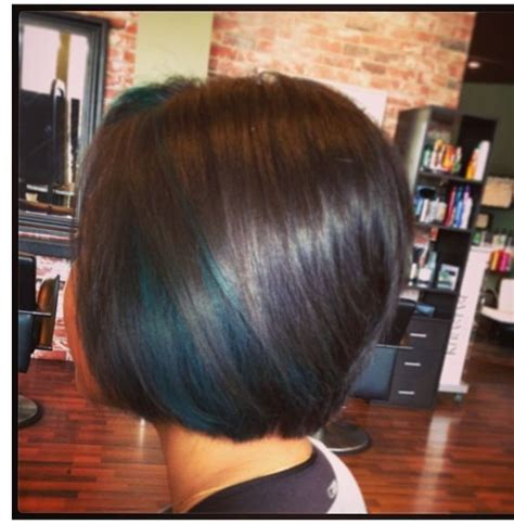 hairstyles with teal highlights teal peekaboo highlights hair pinterest colors the