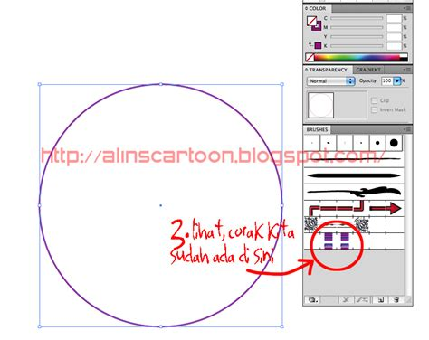 tutorial vector di ai alin s cartoon tutorial membuat pattern brush di adobe