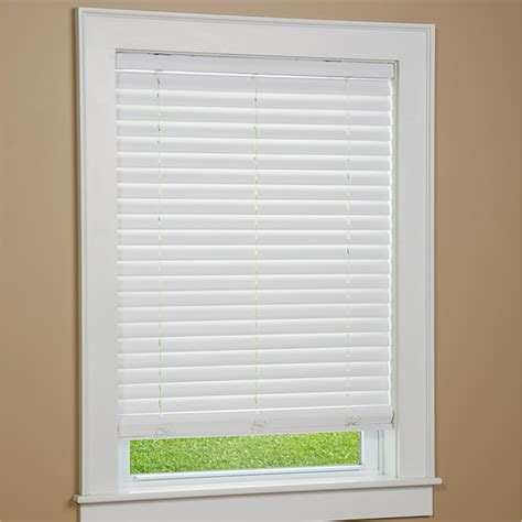 Cordless Window Blinds by Cordless Faux Wood Window Blinds Window Treatments