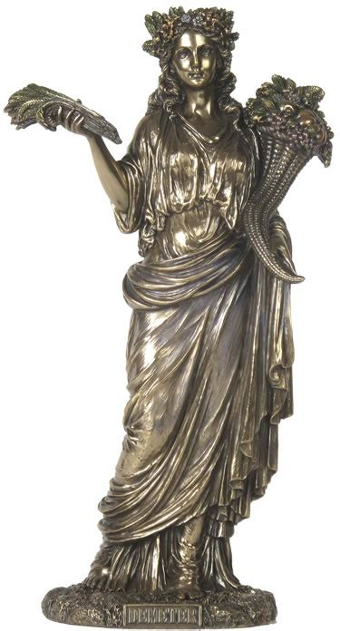 demeter greek goddess statue demeter greek goddess of harvest statue stu home
