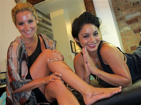 vanessa hudgens and ashley tisdale get new tattoos 02