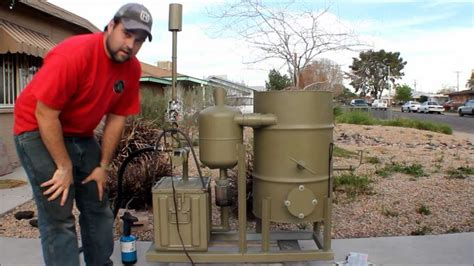amazing gasifier uses wood pellets to run