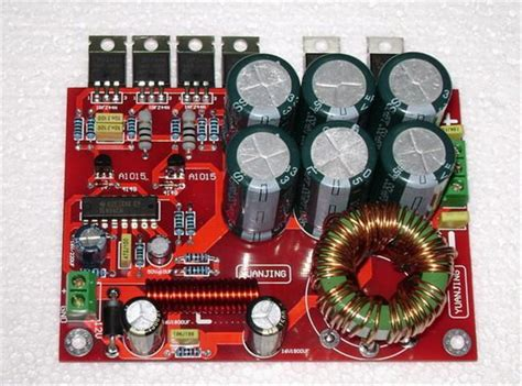 Murah Dc 17 55v To 12v 5a Car Power Supply Converter Step 12v boost to 32vdc 180w power supply inverter tl494 irfz44n for lm3886 tda7294 tda7293 car