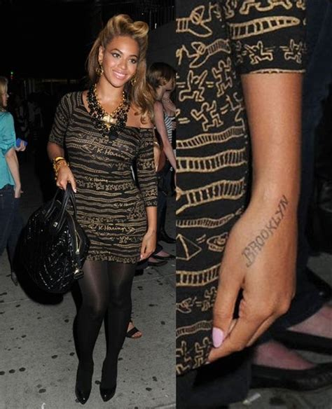beyonce s tattoos 43 best images about beyonce on