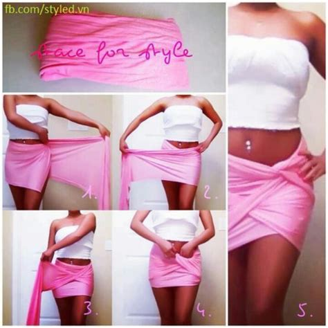 how to drape a sarong diy pink wrap twist skirt skimpy yes diy wrap dresses