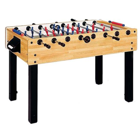 Table Football by Garlando G 100 Beech Table Football Table
