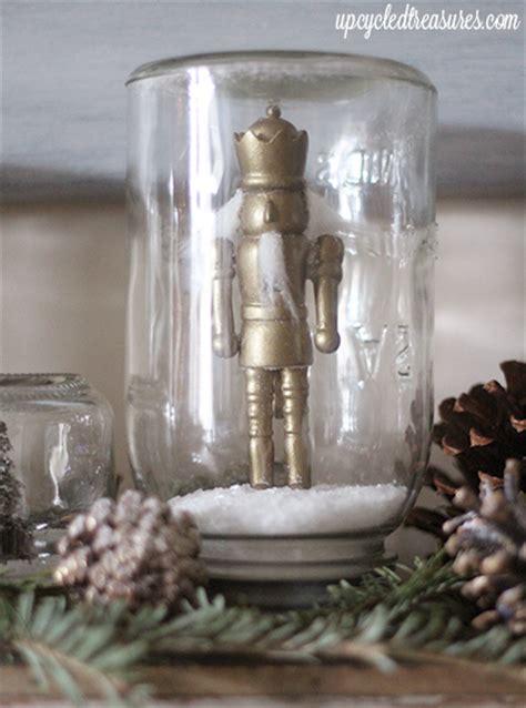 Mason Jar Snow Globe Gift Card - diy mason jar snow globes mountainmodernlife com